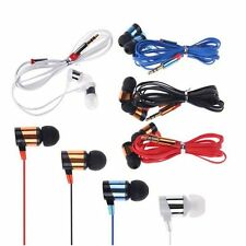 For Samsung CellPhone MP3 MP4 IPod PC Stereo 3.5mm In-Ear Headphone Earphone