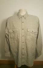 The North Face Vented Roll Up Long Sleeve Button Down Shirt Mens Size Large