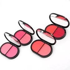 Pro Miss Rose 2 color Cosmetic Cheek Makeup soft Blusher Powder Palette Set G134