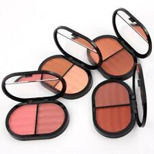 New 2 color Cosmetic Cheek Makeup Blusher Natural Powder Palette Beauty Set G133