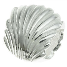 925 Sterling Silver Beach Sea Shell Bead for European Charm Bracelets
