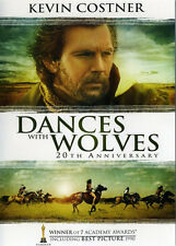 Dances with Wolves (25th Anniversary Edition, Extended Cut) DVD NEW