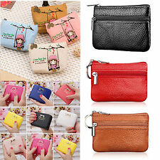 Womens Ladies Girls Small Wallet Card Holder Zip Coin Purse Clutch Handbag