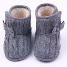 Toddler Baby Kids Snow Boots Girls Winter Warm Soft Shoes Booties Trainers