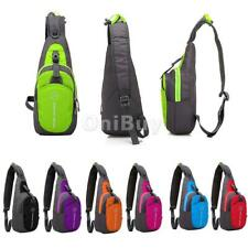Waterproof Shoulder Sling Chest Bag Running Hiking Cycling Back Pack Backpack