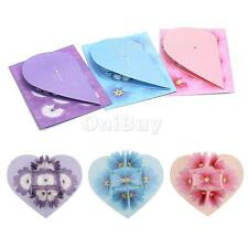 3D Pop Up Blooming Flower Valentine/Bday/Wedding/Christmas Greeting Card 3 Color
