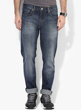 Levi's Blue Mid Rise Slim Fit Jeans