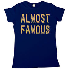 ALMOST FAMOUS WOMENS CELEBRITY FAME PRINTED T-SHIRT