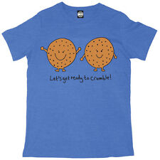 LETS GET READY TO CRUMBLE MENS PRINTED T-SHIRT