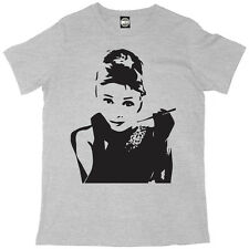 AUDREY HEPBURN CLASSIC ICONIC PRINT MENS BREAKFAST AT TIFFANYS T-SHIRT