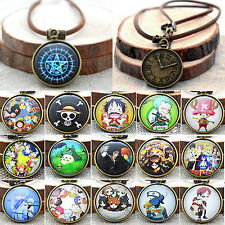 Unisex Retro Anime Necklace Cosplay ONE PIECE Ghoul Tokyo Charm Chains Jewelry