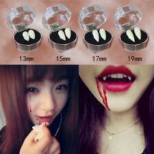 Bloodcurdling Vampire Werewolves Fangs Fake Dentures Teeth Costume Halloween PR