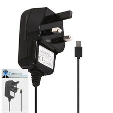 3 Pin 1000 mAh UK MicroUSB Wall Mains Charger for Motorola FlipOut