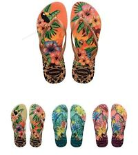 Havaianas Women`s Flip Flops Slim Tropical Sexy Sandals Many Colors Any Size