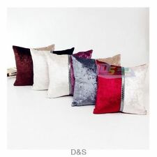 Modern Simple Assorted Color Square Pillow Case Cushion Cover Home Sofa Decor