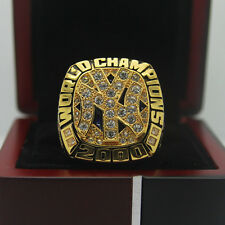 2000 New York Yankees World Series Championship Solid Copper Ring 8-14Size+Box