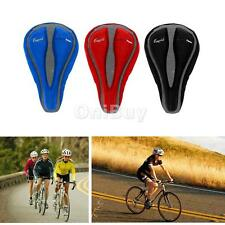 Cycling Bike Bicycle Gel Silicone Silica Cushion Soft Pad Saddle Seat Cover NEW
