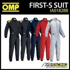 NEW! IA01828B OMP 2017 FIRST-S RACE SUIT - NEW ENTRY LEVEL DESIGN FIREPROOF FIA