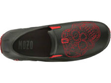 MOZO MEN'S SHOES (3821) , SHARKZ COLLECTION, RED SKULL, SIZES 7-13