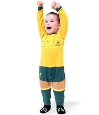 Wallabies Infant Footysuit Sizes 000 - 0