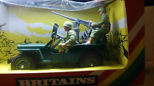 BRITAINS MILITARY VEHICLES US JEEP (9786) BOXED