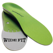 Wide Green Premium Insoles - Superfeet - Orthotics - Shoes Inserts Arch Support