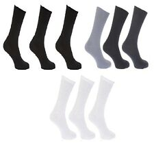 6,12 PAIRS MENS FOOT DIABETIC NON ELASTIC GRIP GENTLE TOP EVERYDAY SOCKS 6-11