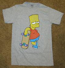 The Simpsons Bart Skateboard Mens T Shirt, New, Sizes S M L XL 2XL TV Cartoon