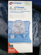 Dreamgear 24 Hour Fitness 4 In 1 Fitness Starter Kit for Nintendo Wii Fit™ BLUE