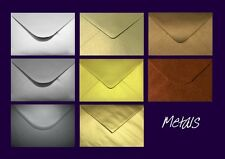 C6 Pearlescent Envelopes - Mixed Pack Metallic Shades