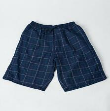 Men's  Sleep Shorts 100% Cotton Knit beach Lounge Wear Causal Comfort Pajamas