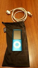 Apple iPod Nano 4th Generation Blue (8GB) Fully Tested, Works Great