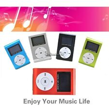 Mini Clip MP3 Player LCD Screen Support Micro SD/TF Card 2/4/8/16GB/32GB USB V