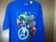 Marve Avengers Hulk Captain America Thor Iron Man  graphic  t-shirt  NWT 2XL