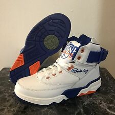 EWING ATHLETICS 33 HI WHITE/ROYAL/ORANGE KNICKS SZ 5-7 BRAND NEW 1EW90014-136