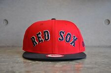 New Era Boston Red Sox Word Red/Black 9Fifty Snapback Cap