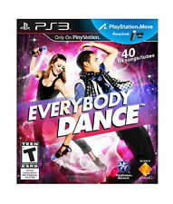 Brand New Factory Sealed PS3 Everybody Dance (Sony Playstation 3, 2011) Sealed!