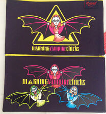 Maped Quality Girls School Pencil Case Vampire Chicks Goth