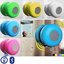 Portable Waterproof Speakers & Suction Cup For Orange Rio