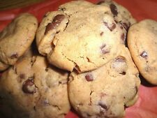 HOMEMADE SUPER SOFT PEANUT BUTTER CHOCOLATE CHIP COOKIES (CHOICE OF QUANTITY)