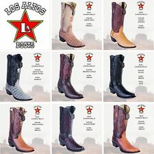 2017, Western,Cowboy, Los Altos Boots, Caiman Belly Exotic Skin, check Available