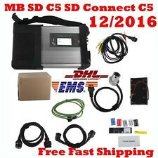 TOP Quality MB SD C5 SD Connect C5 Star Diagnosis with Wifi+the Xentry 12/2016