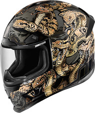 ICON AIRFRAMEPRO MOTORCYCLE HELMET AFP COTTNMOUTH GD LG LARGE 0101-9328