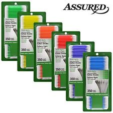 350 PIECES/PACK 100% PURE COTTON SWABS DOUBLE TIPPED OR 160 PC 3-N-1 COTTON SET.