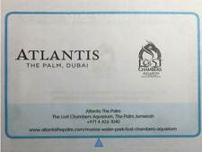 LOST CHAMBERS, Atlantis, The Palm - BOGOF Vouchers - from DUBAI Entertainer 2017