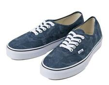 VANS Authentic Vintage Chambray Leave Blue Athletic Sneakers Mens Womens Shoes