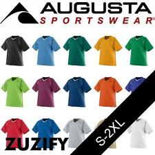 Augusta Sportswear V-Neck Jersey with Contrast Piping. 214