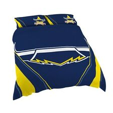 North Queensland Cowboys NRL Quilt Doona Cover Pillow Case - Double Queen King