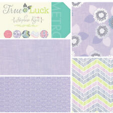 Moda-True Luck- Lilac Patchwork Fabric Bundle, Fat Quarters or by the meter