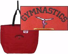 Gymnastics Gymnast + Free Name Custom Embroidered Coach Gift Essential Tote NWT
